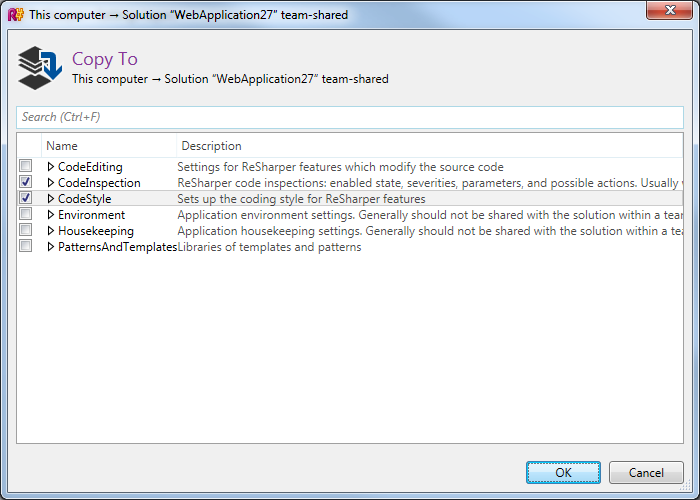 The ultimate guide to share Visual Studio settings within a team or